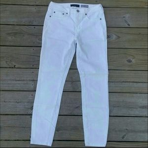 White Aeropostale High Waisted Ankle Jeggings